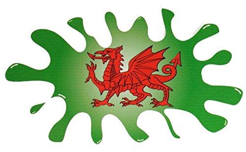 Preisvergleich Produktbild Unbekannt Walisischer Drache Splat 130x 76mm–V550