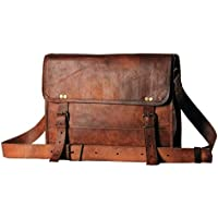 "Borse in pelle da 13"" pollici in vera pelle Messenger Messenger MacBook Air Pro Laptop Ipad Tablet Satchel Bag"