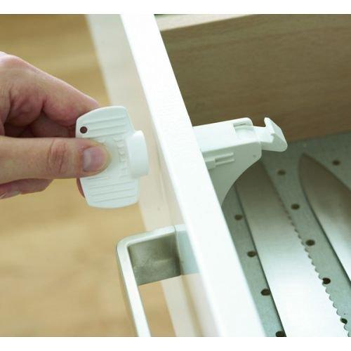 Babydan Magnetic Drawer and Cupboard 4 Locks and 1 Key: Amazon.co.uk: Baby