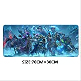 FSJF Tappetino per Mouse Warcraft III Frozen Throne Gaming Mouse Pad Grande Wow Padmouse Decorazione per la velocità Notebook Portatile Professionale Mat   6