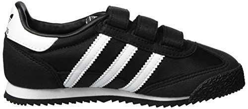 adidas Dragon Og, Scarpe Running Unisex – Bambini Nero (Core Black/ftwr White/core Black)