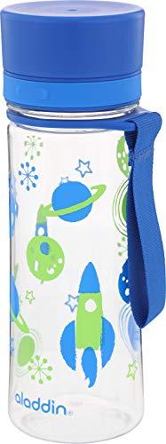ALADDIN Trinkflasche Aveo Kinder Blue Kids Graphics, 350 ml