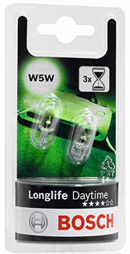 Bosch Lampes Longlife Daytime W5W 12V 5W (Ampoule x2)