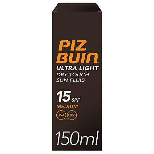 Piz Buin Ultra Light Dry Touch Sun Fluide/Ecran Solaire SPF15 150 ml