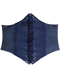 HANERDUN Damen elastischen Retro Gürtel Korsett mit Klettverschluss Taille Hüftgurt Vier Größen