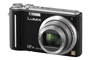 Panasonic Lumix TZ6 Digital Camera - Black (10.1MP, 12x Optical Zoom) 2.7 inch LCD