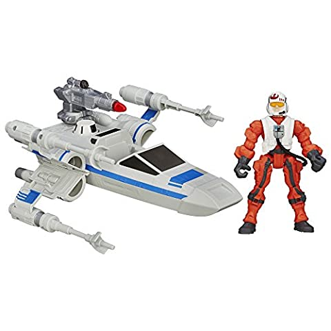 Star Wars Hero Stampfern Episode VII Widerstand X-Wing und Widerstand Pilot (1 Anakin Skywalker Action-figur)