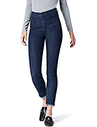 Marque Amazon - find. Jean Skinny Taille Haute Femme