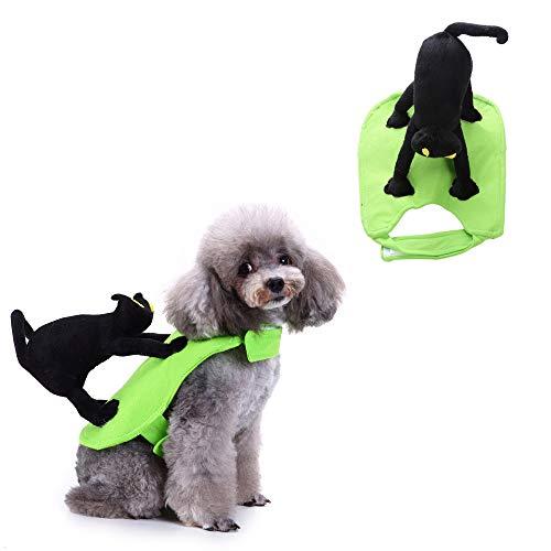 JLCYYSS Et Halloween Kostüm Outfit Kleidung Hund Katze Spuk Kostüm Geschenk Party Neuheit Katze Ritter Design Kleidung,M