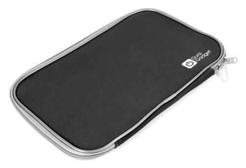 DURAGADGET SCHWARZE, wasserabweisende Hülle aus Neopren, kompatibel mit LENOVO IdeaTab S6000L Tablet PCs