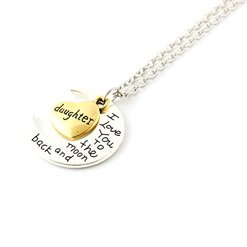 Used, Family Gifts I Love You to The Moon & Back Pendant for sale  Delivered anywhere in Ireland
