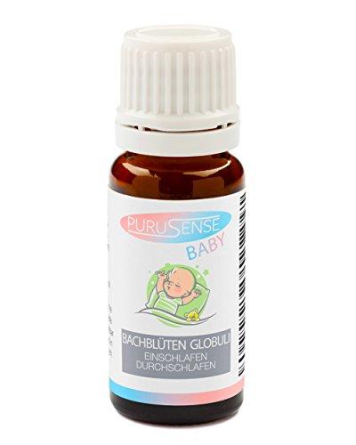 Baby Bachblüten Globuli - Natürliche Einschlaf Durchschlafhilfe - Purusene - Apothekenqualität