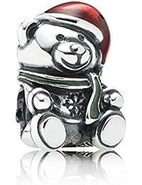 Pandora Charm Weihnachts-Teddy