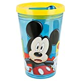 Best Botellas de agua de Mickey Mouse - Stor Vaso Robot 450 ML. Mickey Mouse Icons Review