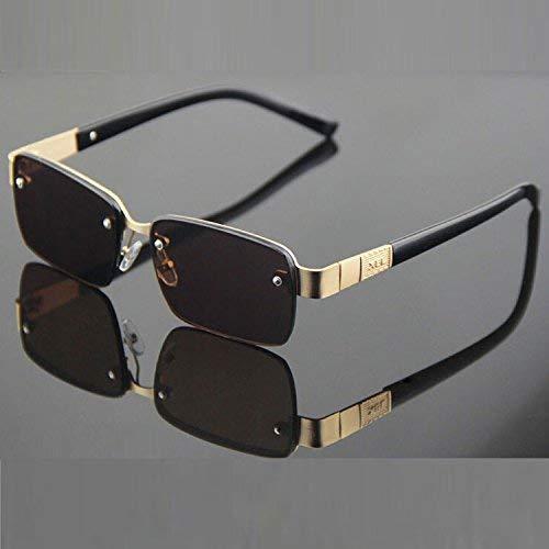 SCJ Der Vogue Halbrahmen Crystal Rock Mirror Male lässt alte Bräuche Wieder aufleben, damit die Sonnenbrille die Sonnenspiegel-Sonnenbrille in Bewegung hält, um die Strahlung zu verteidigen
