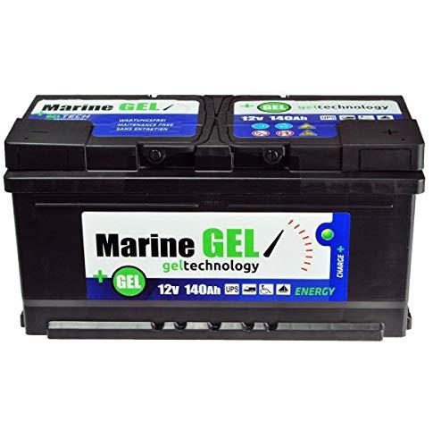 MarineGel, batteria al gel, 140 Ah, per barca, 12 V, non richiede manutenzio