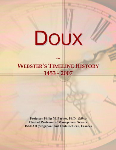 doux-websters-timeline-history-1453-2007