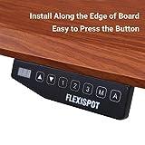 FLEXISPOT E5B Höhenverstellbarer Schreibtisch Elektrisch Höhenverstellbares Tischgestell, 3-Fach-Teleskop, Passt für Alle Gängigen Tischplatten. mit Memory-Steuerung und Softstart/-Stop - 5