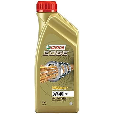 Castrol EDGE Aceite de Motores 0W-40 A3/B4 1L (Sello alemán)