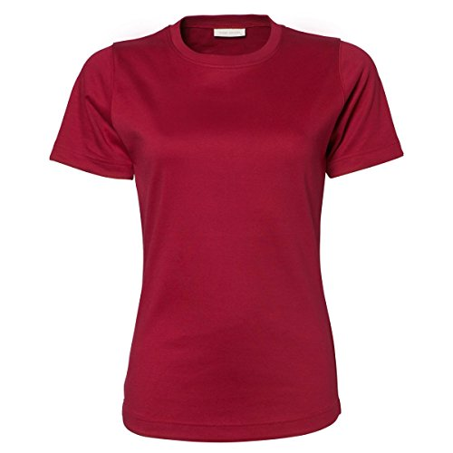 Tee Jays - T-shirt à manches courtes 100% coton - Femme Prune