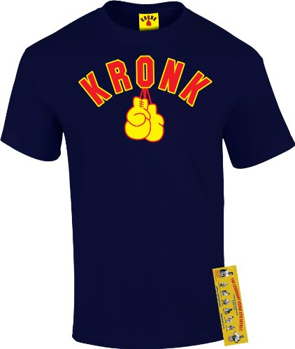 Kronk Boxing Gym, Detroit, Men's Gloves T Shirt. Klitschko, Thomas Hearns, Lennox Lewis. Blau