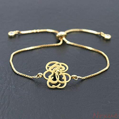 Armband Edelstahl Gold Armband Für Männer Frauen Dünne Gliederkette Armbänder Für Paare Berühmte Schmuck Geschenk