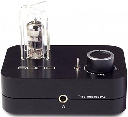 Aune T1 SE MK3 Digital-Analog Wandler / Röhren Kopfhörer-Verstärker 24Bit 192K DSD DA-Wandler USB DAC schwarz Neueste Version