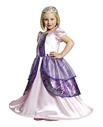 Rubies Prinzessin Bella Mädchen Kinder Kostüm Kleid Fasching Karneval Verkleiden: Größe: ()