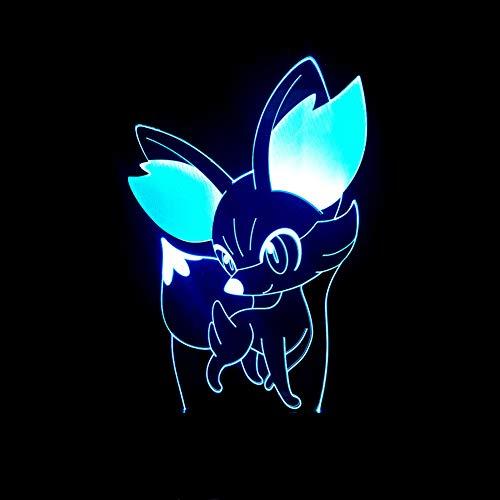 isches Tischlicht Stimmung Lampe Touch Fernbedienung 7 Farben Ändern Home Light Neuheit Kinder Geschenk,7color+remotecontrol ()