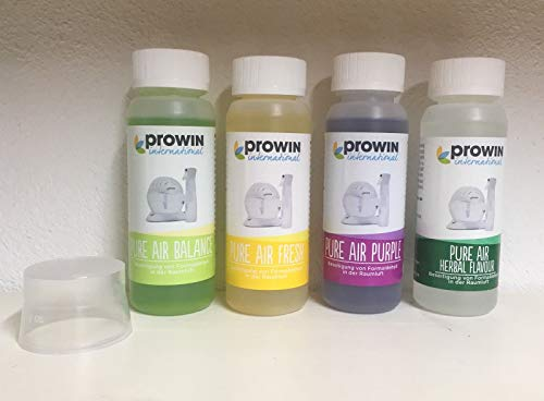 PROWIN PURE AIR 4 er SET -NEUE DÜFTE- 4x100ml