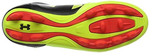 Under Armour Ua B Spotlight Dl Fg-r Jr, Chaussures de Football Garçon Jaune (High-vis Yellow 731)