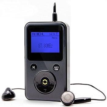 a2081f12860c Herdio Mini Compact Personal Portable DAB+ DAB Digital Radio FM Radio MP3  Player Handheld Pocket Digital