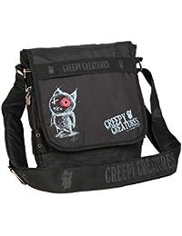 """Kollektion Creepy Creatures - Tasche""""Stitches Box"""" Umhängetasche schwarz in Größe L"""