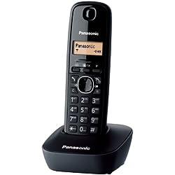 Panasonic KX-TG1611SPH - DECT KX-TG1611 negro