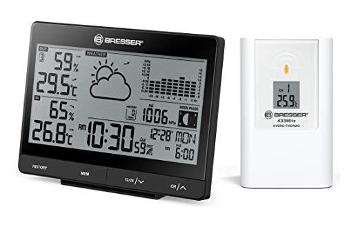 Bresser 7006405 - Estación meteorológica inalámbrica, Color Negro