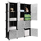Anva Multipurpose Portable Canvas Wardrobe-4.1 Feet