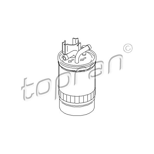 Audi Kraftstofffilter 2004 (TOPRAN 109 048 Kraftstofffilter)