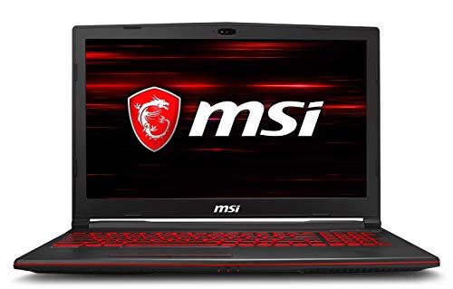 """MSI GL62M 7RDX-2805IT Notebook con Scheda Grafica Nvidia GTX 1050, 2 GB GDDR5 DDR IV 8 GB, Espandibile a 32 GB, 1TB HDD e Slot Libero SSD NVMe, Display da 15.6"""""""