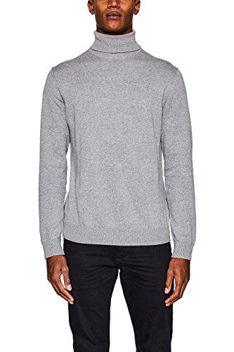 ESPRIT Herren 107EE2I032 Pullover, Grau (Grey 030), XX-Large