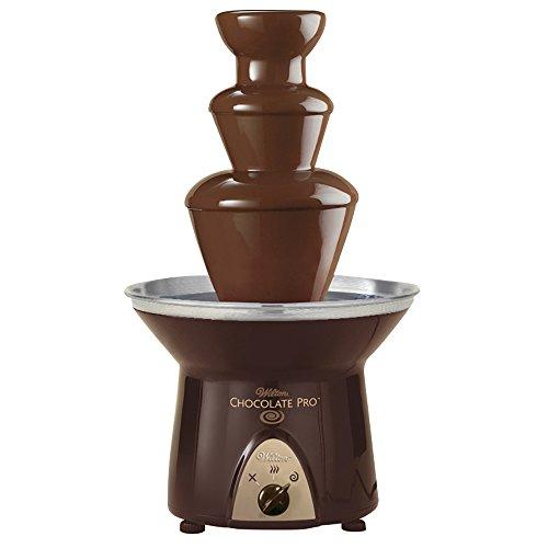 Wilton Chocolate Pro Schokoladen-Fondue-Springbrunnen für Schokolade, 1,8 kg Kapazität