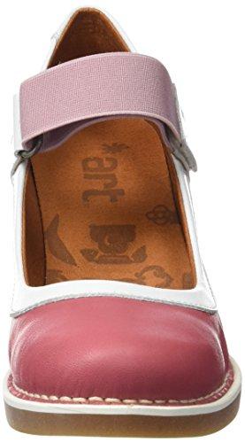 ART Damen 1071 Star St.Tropez Hohe Absätze mit Geschlossener Spitze Pink (Rose)