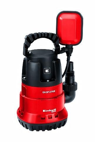 Einhell Tauchpumpe GH-SP 2768 (270 W, max. 6800 l/h, 5 m Eintauchtiefe, max. 35 °C, stufenlos einstellbarer Schwimmschalter,