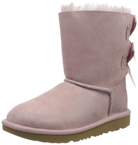 UGG K Bailey Bow II, Niñas, Rosa Pink Crystal Pcry, 30 EU