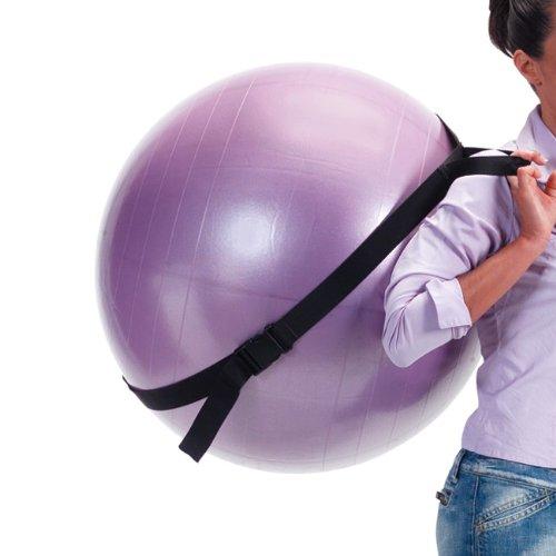Gymnic Sangle de Transport des Ballons de Fitness / Balles Gymnastiques