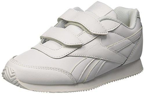 8915fd5fbc71c Reebok Unisex Kids Royal Cljog 2 2v Gymnastics Shoes White