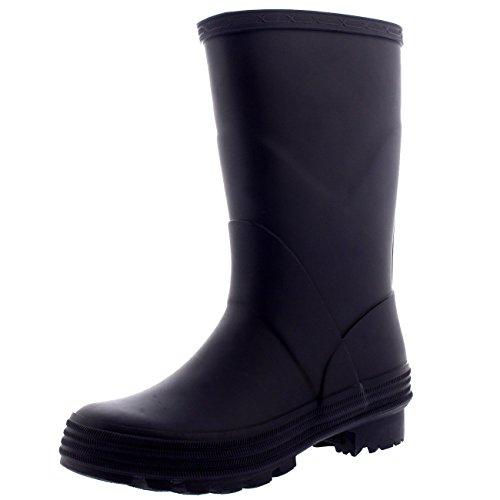 POLAR Unisex Kids Winter Snow Waterproof Wellington Muck Yard Rain Welly Boots