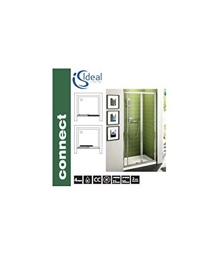 Ideal standard connect psc porta 120 scorrevole brill lucido/vetro tra (Porta Schüssel)