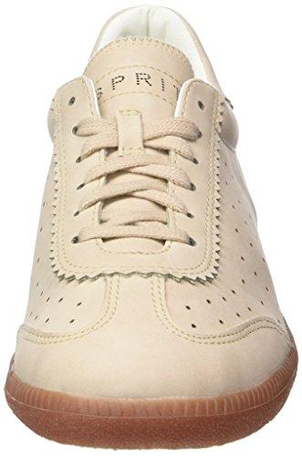 ESPRIT Damen Trainee Lace Up Sneaker Beige (skin Beige 280)