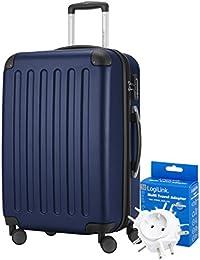 HAUPTSTADTKOFFER® 82 litri valigia da viaggio · Spree · TSA · Matt · (tenendo in. Colori) + Adattatore da viaggio