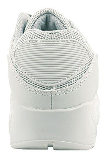 Sneakers grigie per unisex Elara MAFv64Uf